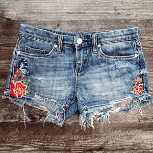 BlankNYC Embroidered Hiker Short